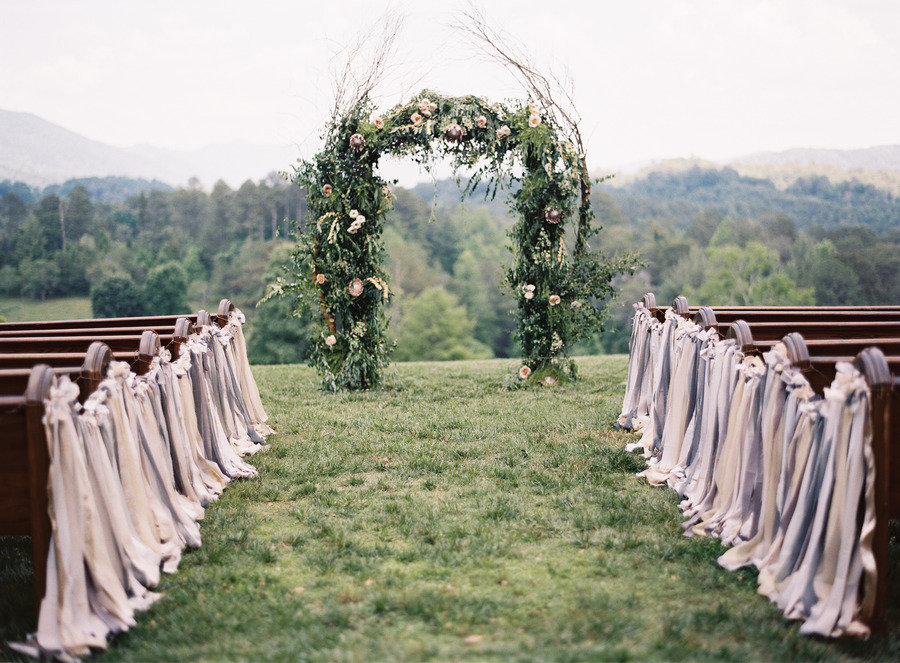 Charmant Outdoor Country Wedding 9