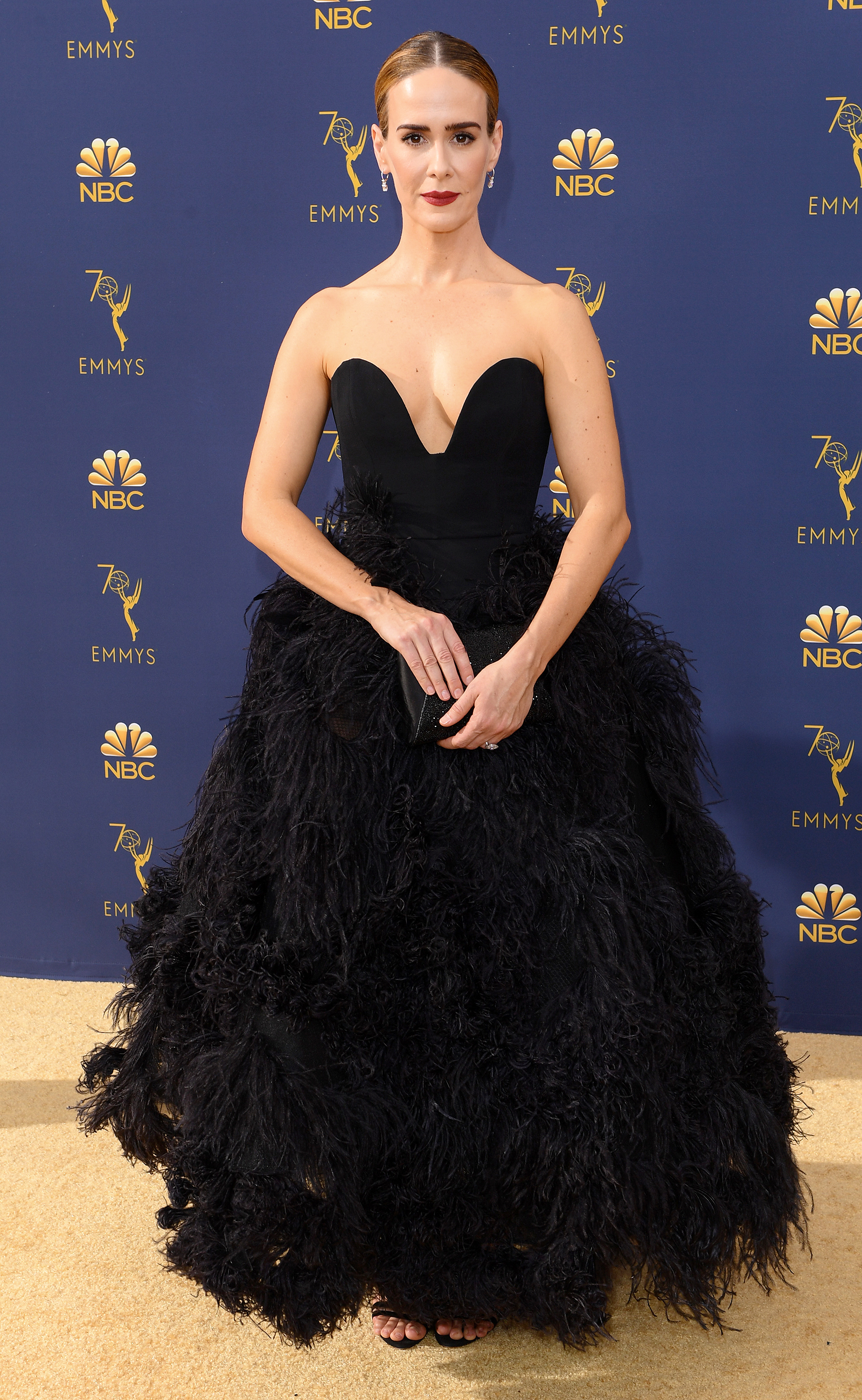 Image result for sarah paulson emmys 2018