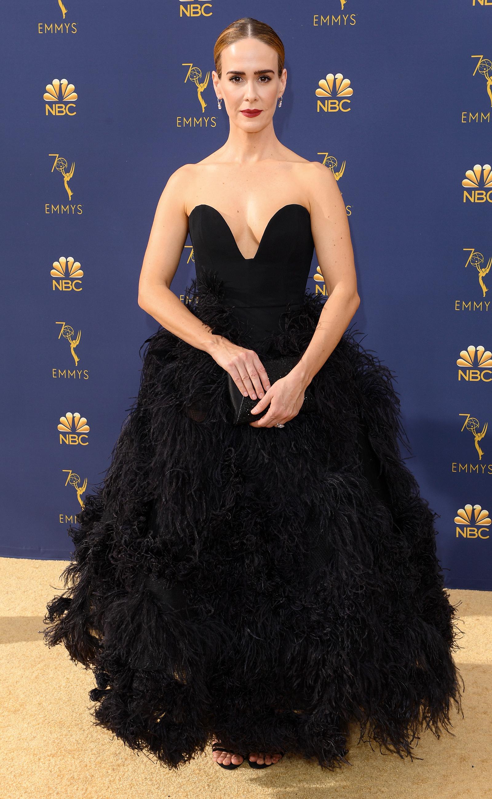 Sarah Paulson Emmys 2018