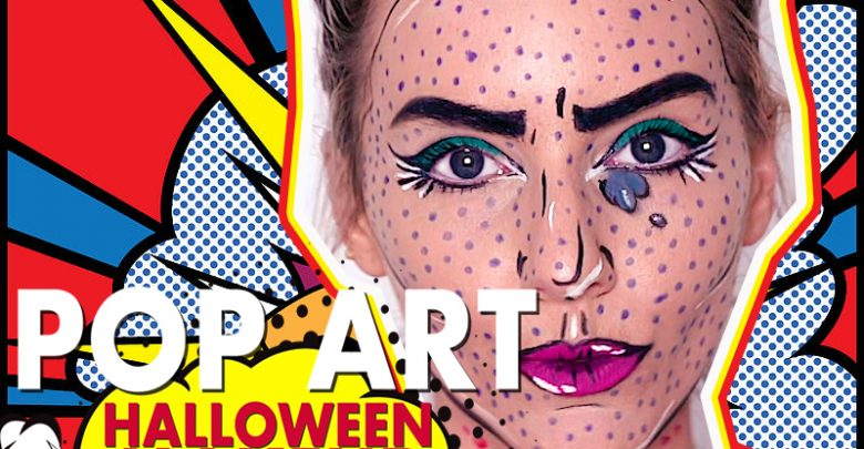 Pop art lips makeup tutorial | jordan hanz youtube | pop art.
