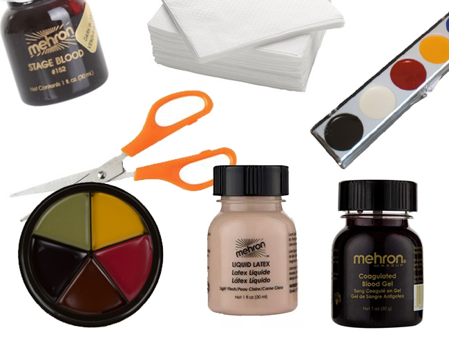 What you need for SFX makeup