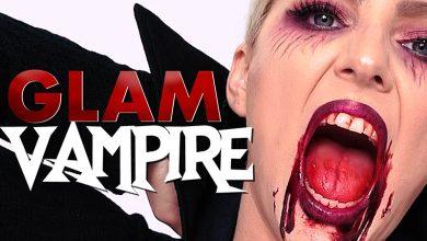 Easy Vampire makeup