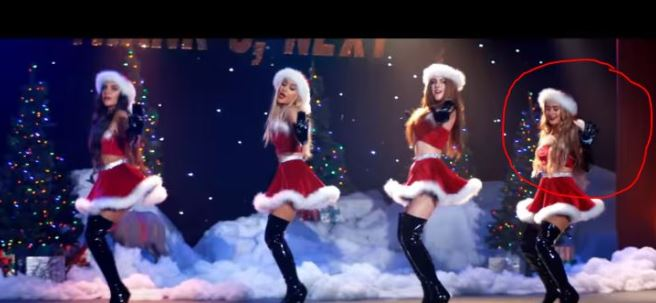 Jingle bell rock scene