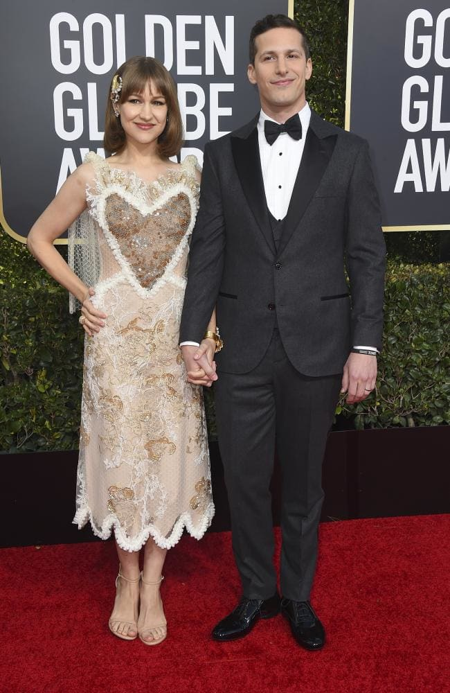 Golden Globes - Andy Samburg