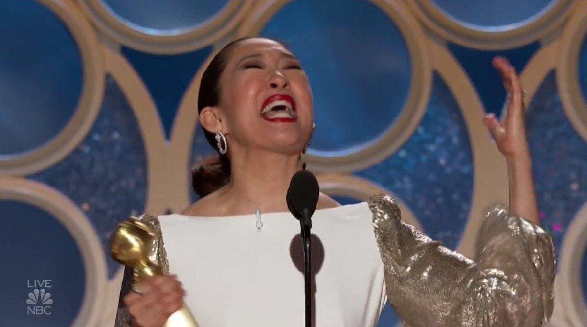 Sandra Oh Golden Globes